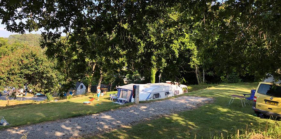 Camping CAP OUEST, lanvéoc, bretagne